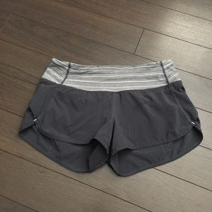 Lululemon Shorts With Zipper
